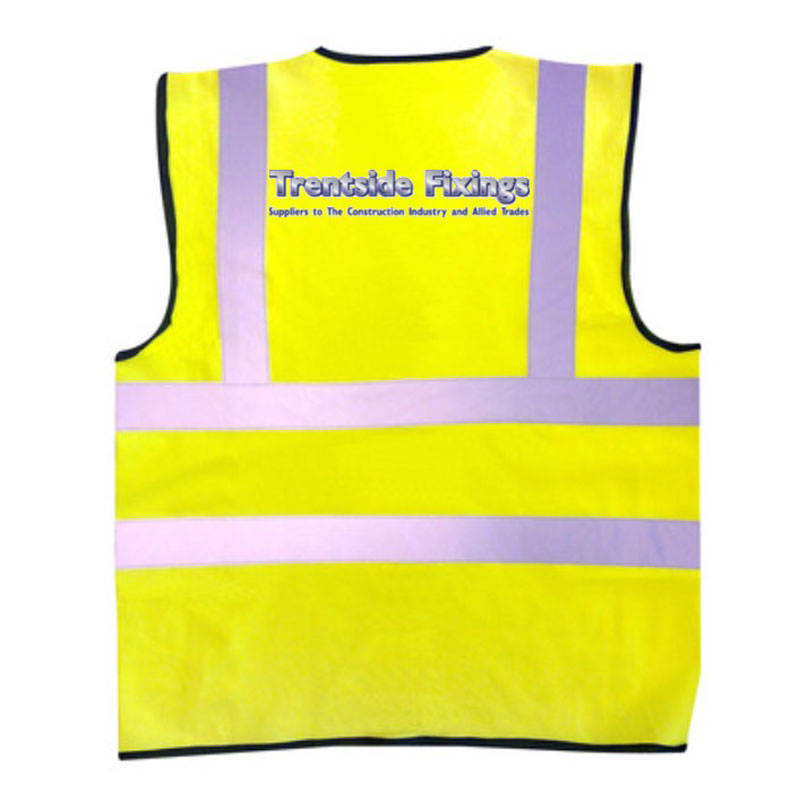 Yellow High Visibility Waistcoat X-Large