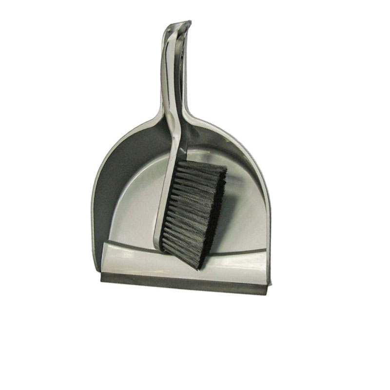 Plastic Dustpan and Brush Set