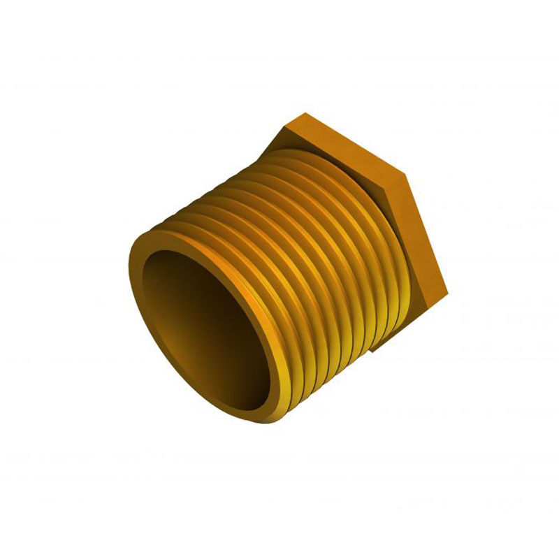 Long Male Brass Bush