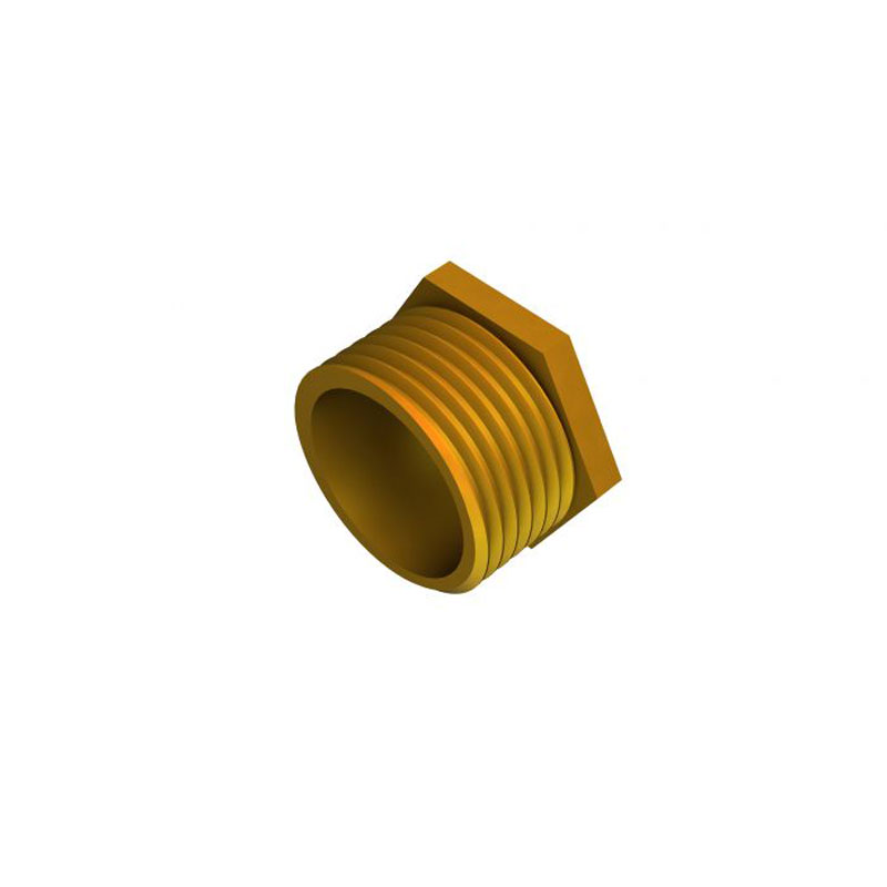 Short Male Brass Bush
