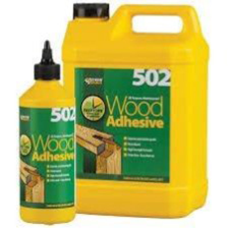 PVA Waterproof Wood Adhesive - 5 Litre