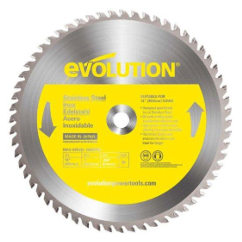 355mm Raptor TCT Stainless Steel Cutting Blade