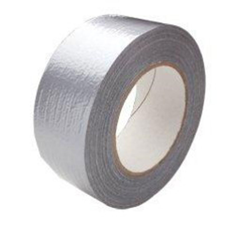 50mm x 50mtr Silver Duct Tape