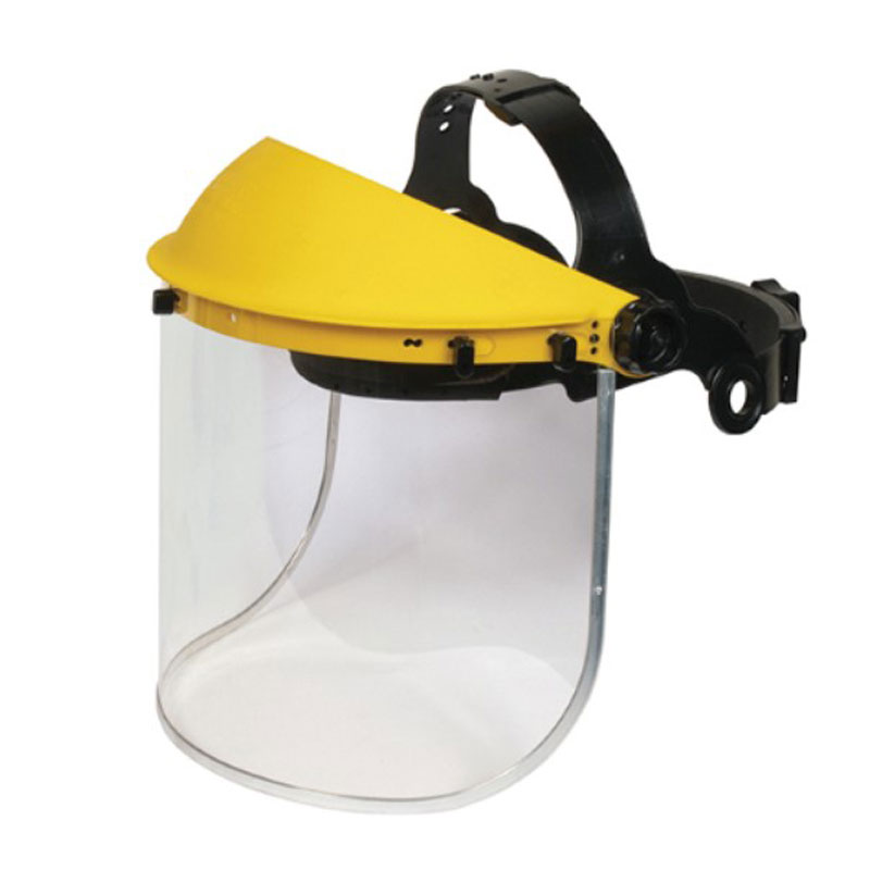 Impact Resistant Safety Visor